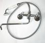 СмВУ51/4 (латунный переключатель, шланг металлический, фарфоровая лейка)